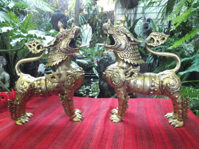 Lion Dogs Foo Dogs