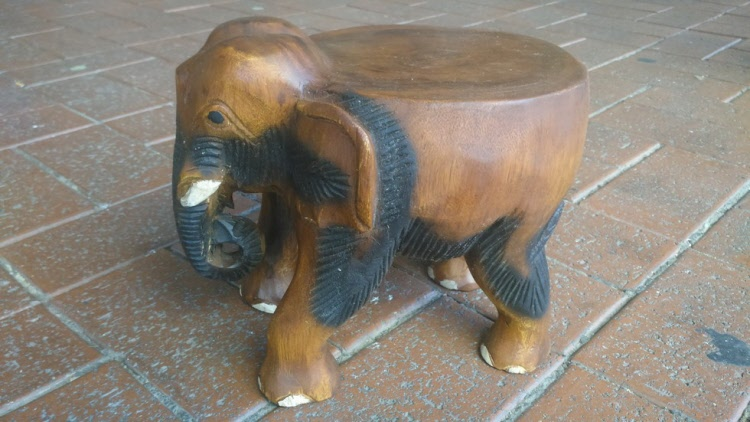 Astonishing Elephants Gmtry Best Dining Table And Chair Ideas Images Gmtryco